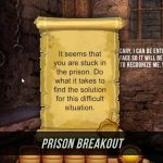 Mini escape game Prison Breakout