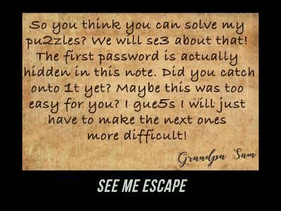 See me escape (EN)