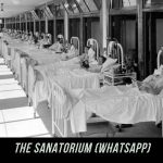 Whatsapp escape game - The Sanatorium