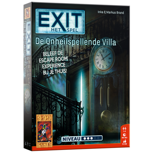 Escape bordspel - De Onheilspellende Villa