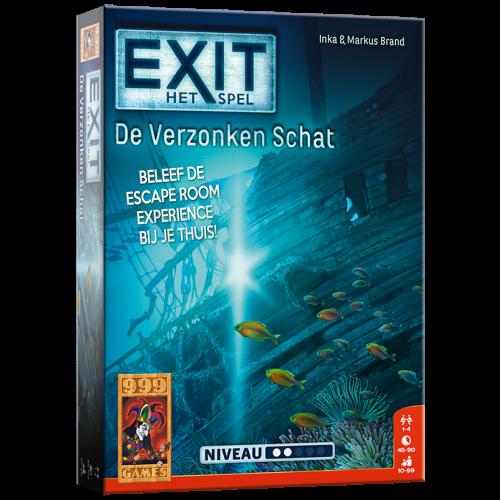 Escape bordspel - De Verzonken Schat