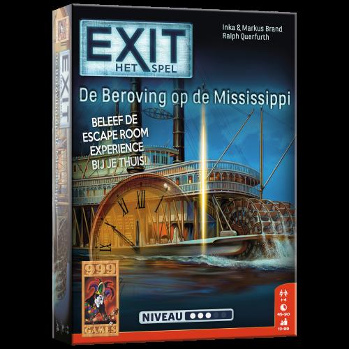 Escape bordspel - De Beroving op de Mississippi