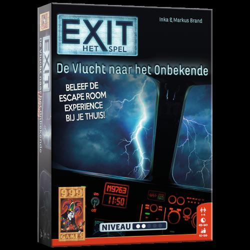 Escape bordspel - de Vlucht naar het Onbekende