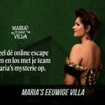 Maria's Villa - betaalde online escape game